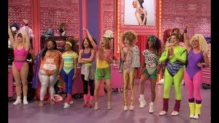 """Taylor Jamison guests on RuPaul's Drag Race Season 11 Episode 6 """"The Draglympics""""  
