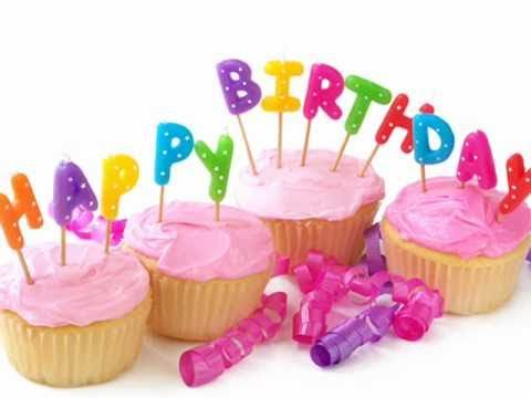 Happy Birthday with lyrics - YouTube
