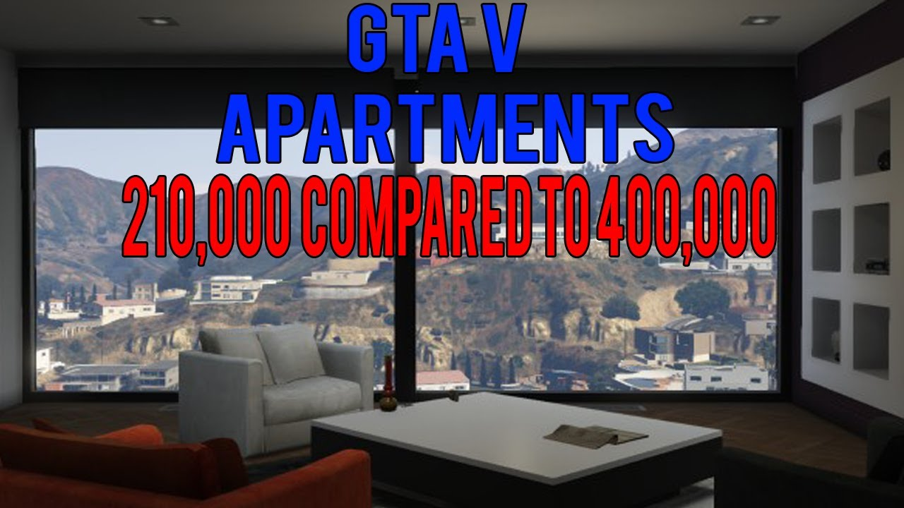 GTA V Online: The Best Apartment To Buy - YouTube