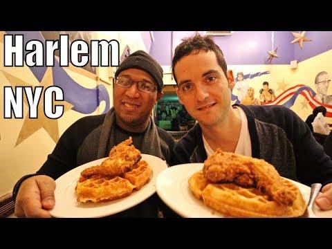 Harlem, NYC Neighborhood Tour- Soul Food & More ! (Manhattan)