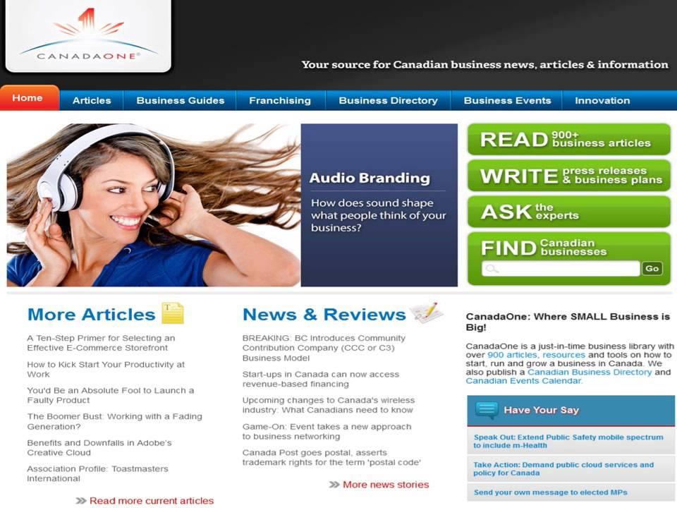 Top Canadian B2B Websites & Business Directories