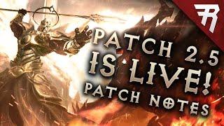Diablo 3 Patch 2.5 is LIVE! Patch notes (Season 10, PC & Console)