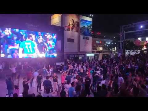India Vs Afghanistan || Indian Cricket Fans Celebrating in Gurgaon Part 2