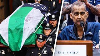Jon Stewart Salutes 9/11 Detective Laid to Rest