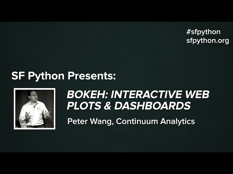 Bokeh: Interactive Web Plots & Dashboards