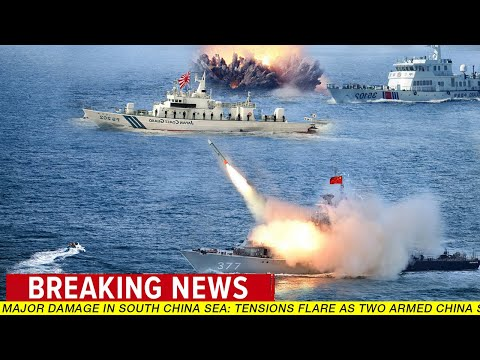 Major Damage in South China Sea: Tensions flare as two armed China ships open fire in Japan waters