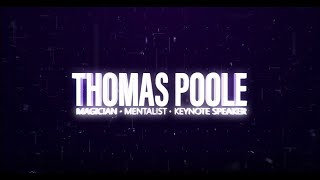Thomas Poole Magician  - Promo Video #4