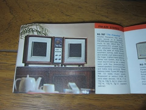 Panasonic USA Electronics Catalog  1966