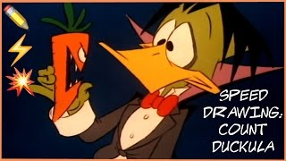 Speed Drawing: Count Duckula