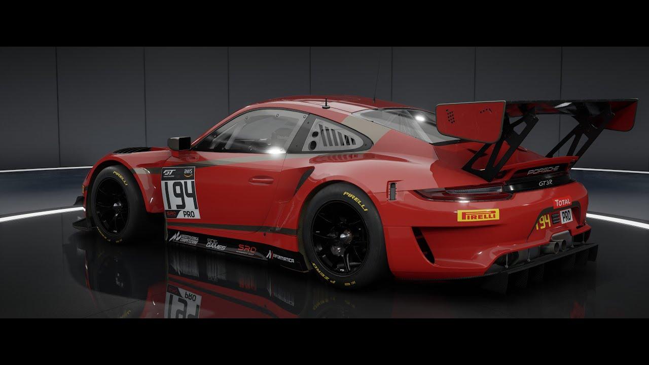 Assetto Corsa Competizione / HARD Multiplayer CP Online Race @ Barcelona / Porsche 911.2 GT3R
