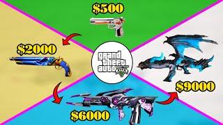 GTA 5 - Tôi mua tất cả Súng mạnh nhất có siêu năng lực trong game như thế nào
