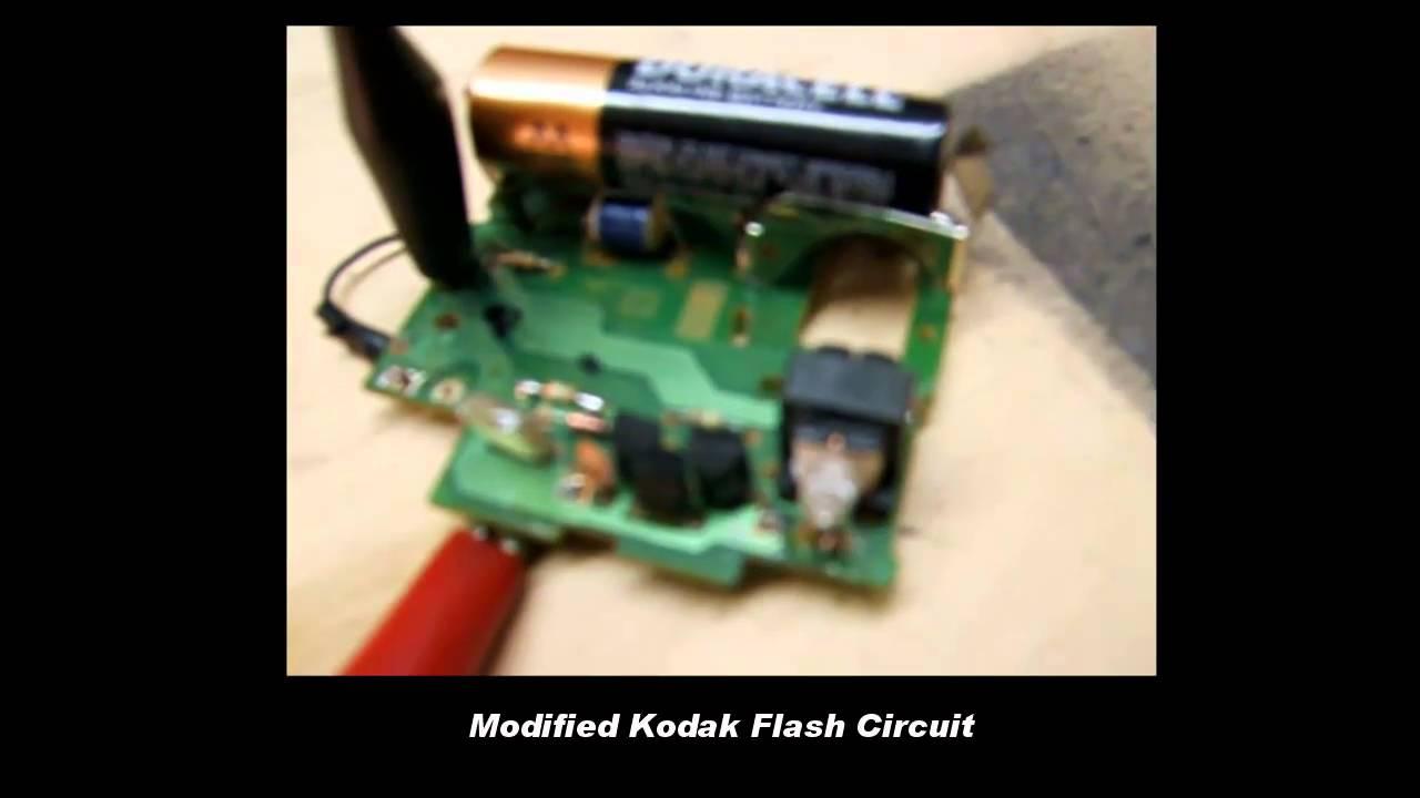 Theb3e Youtube Gaming Circuit Kodak Disposable Camera Flash Schematic