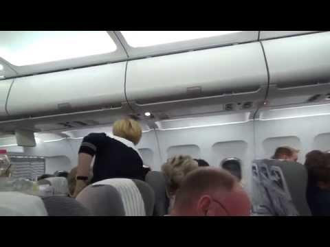 Finnair business flight Helsinki-London Heathrow