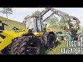 ONE MAN ONE WHEEL LOADER | LOGGING RAVENPORT #3 | FARMING SIMULATOR 2019