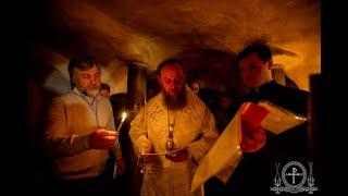 Молитва у мощей преподобных Печерских об исцелении народа Божия от пандемии коронавируса.