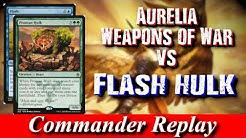 Aurelia Weapons of War vs Flash Hulk Tymna Thrasios, Hapatra, Greven Predator Captain