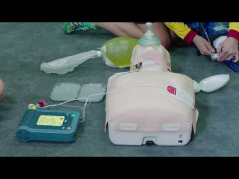 Resuscitation incorporating Oxygen and Defibrillation