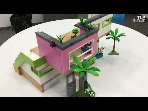 Construction De La Maison Moderne Playmobil N 5574