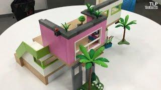 construction de la maison moderne playmobil n 5574 francais