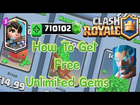 How to get gems FREE in Clash Royale (real)