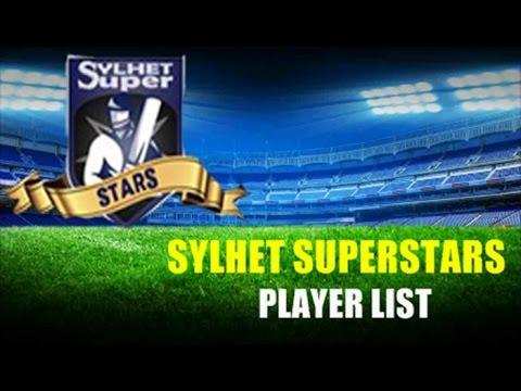 Sylhet Super Stars Team - Player List for BPL T20 Cricket 2015