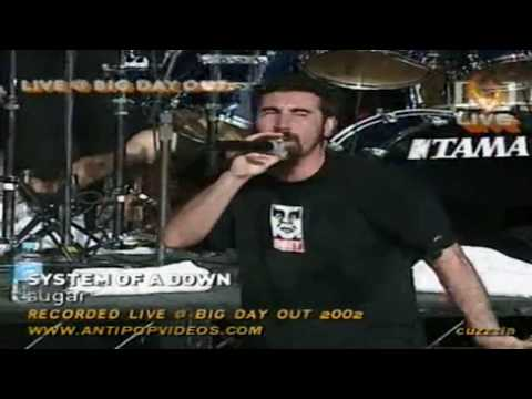 System Of A Down - Sugar live (HD/DVD Quality)