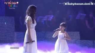 MẸ YÊU CON - Bé Bảo An & Ái Phương (Liveshow Bài Hát Việt tháng 9/2014)