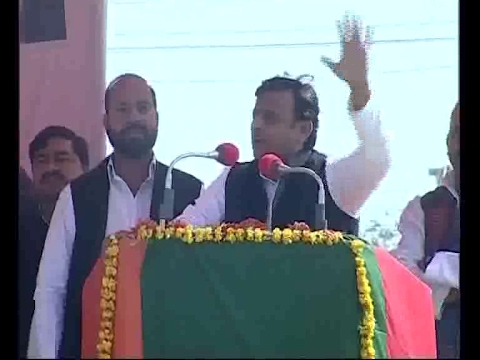 UP Election 2017 | MEERUT | RAHUL GANDHI & AKHILESH YADAV JOINT RALLY  | akhilesh yadav speech