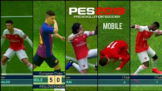 All New Celebrations By Best Players | PES 19 MOBILE