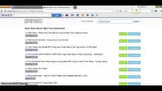 tutorial mendownload menggunakan mp3freex