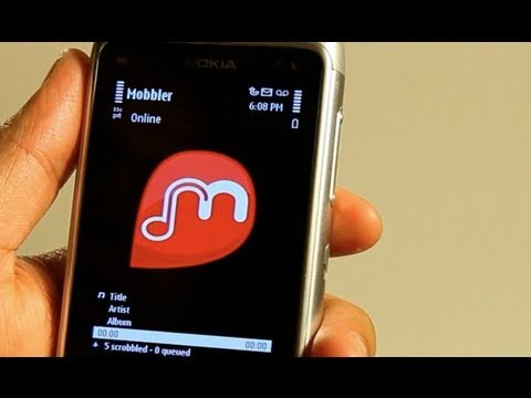 Mobbler, LastFM radio player and scrobbler for your smartphone