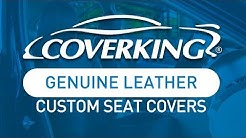 COVERKING® Genuine Leather Custom Seat Covers