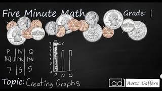 1st Grade Math Creating Graphs