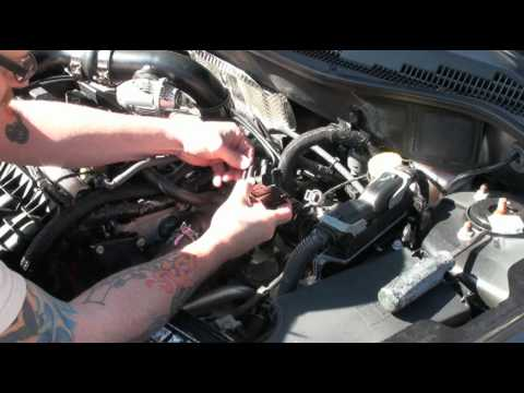 Caliber SRT4 BOV Vacuum Line YouTube – Dodge Caliber Srt 4 Engine Diagram