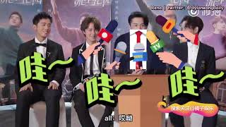 Engsubs  180724 橘子娱乐 Interview - Dylan Wang  王鹤棣