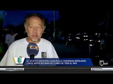 """""""Vi a mis jugadores agarrar una pala, salir y ayudar"""": Víctor Arana, presidente del Zacatepec"""