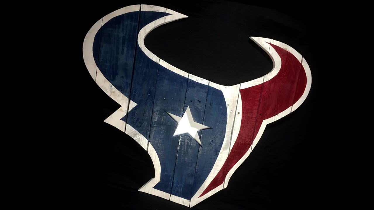 more photos 91fe5 77c85 Texans Logo from Pallet Wood