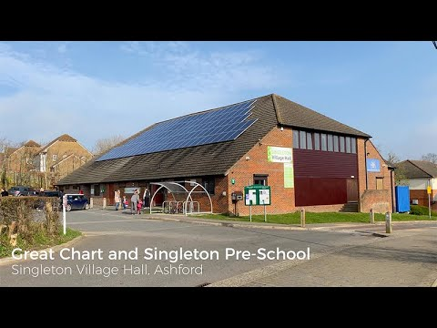 Routenanweisung zu singleton Village hall, Hoxton Cl, Ashford - Waze