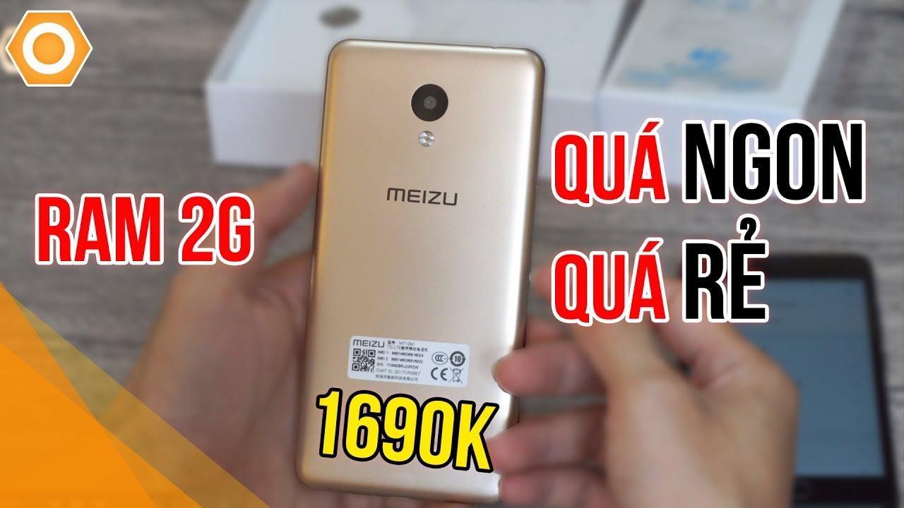 Chỉ 1tr690K - Smartphone Meizu RAM 2GB rẻ nhất đây rồi