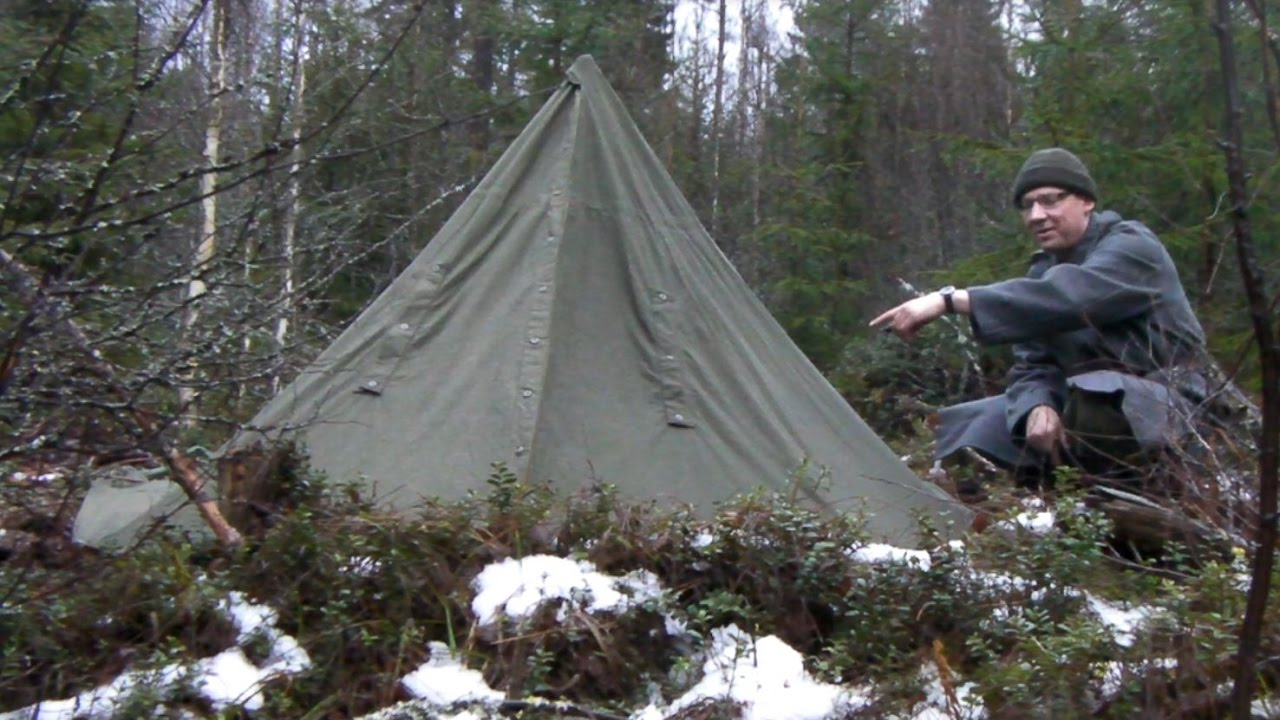 Polish military tent heated with rocks / Wool blanket at -3C / Overnight - YouTube & Polish military tent heated with rocks / Wool blanket at -3C ...