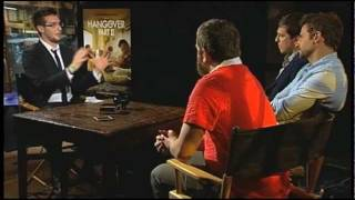 HANGOVER PART 2 interviews with Ed Helms, Bradley Cooper, Zach Galifianakis, Ken Jeong