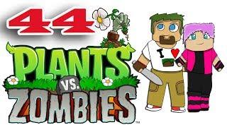 ч.44 Растения против Зомби с кошкой - Выживание: Ночь