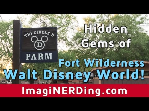 Tri-Circle-D Ranch and Farm & River Country at Fort Wilderness at Walt Disney World