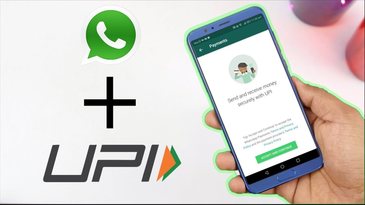 How to get UPI PAYMENT in WhatsApp!