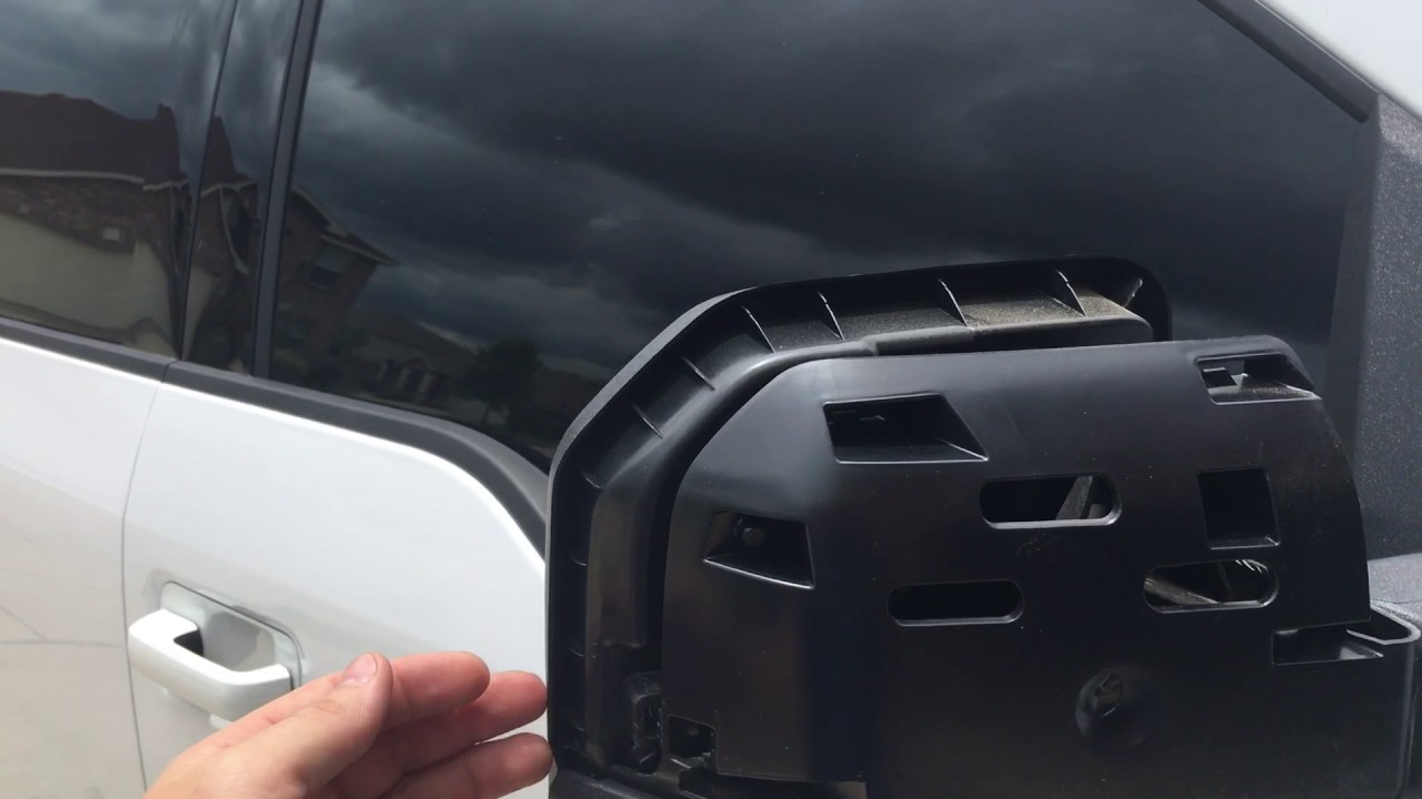 How To Remove   F Mirror Caps