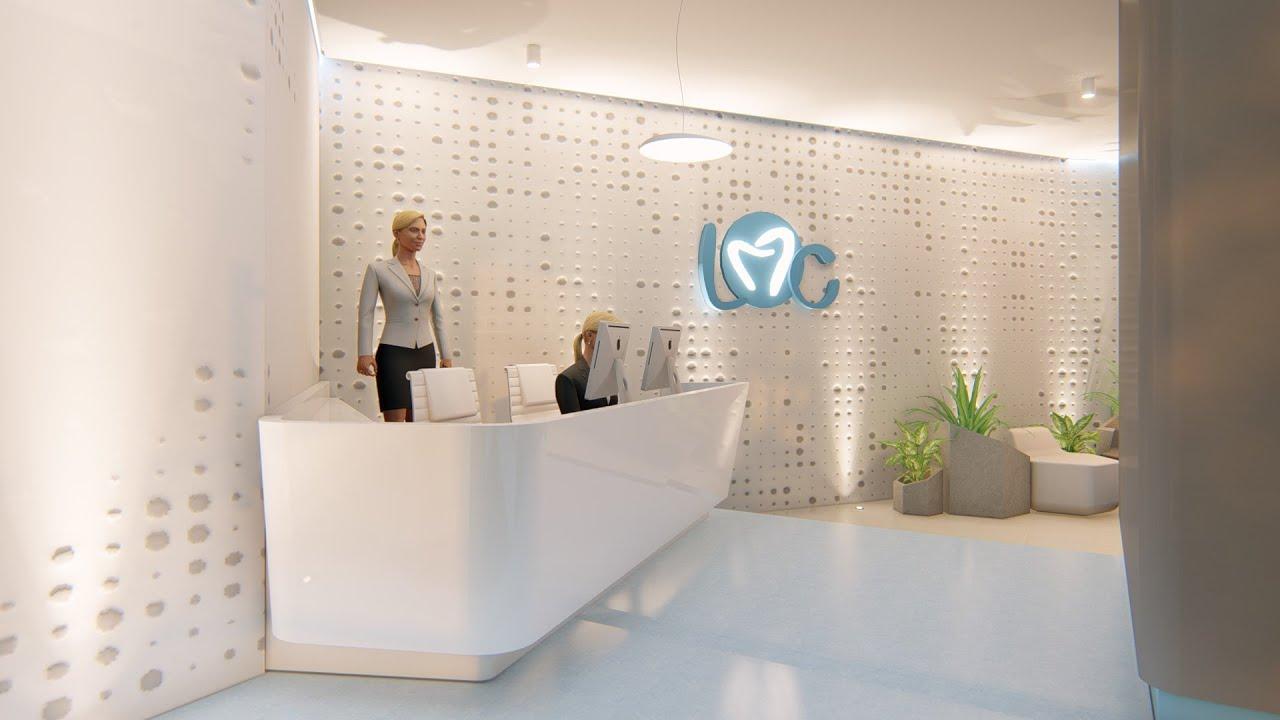 Diseño Clinica LMC Dental Group - Lumion - YouTube
