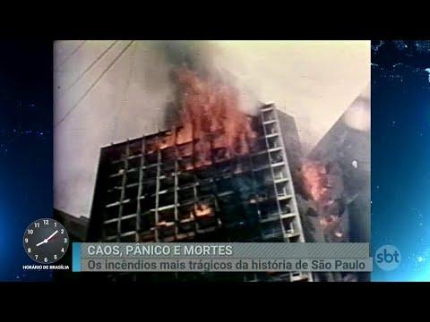 Relembre outros incêndios que marcaram a história de São Paulo    Primeiro Impacto (01/05/18)