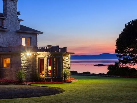 Exclusive Oak Bay Waterfront Home in Victoria, Canada
