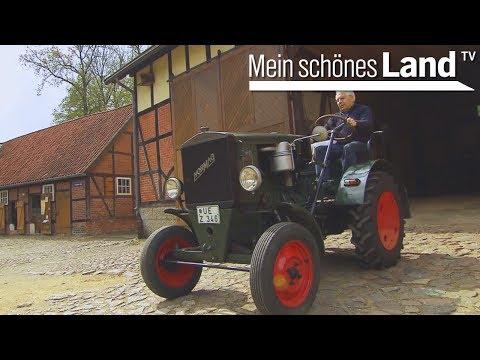 Treckermuseum auf dem Hof Scharnhop