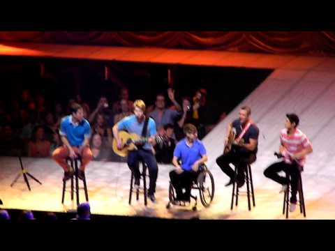 Glee Live - Single Ladies/Friday - Boston 6/7/11